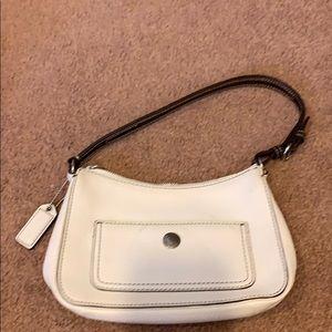 Coach leather mini bag